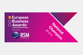 National Champion of the European Business Award